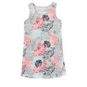 Girls (7-16) Jessica Simpson Sleeveless Tropical P