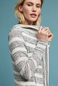 Anthropologie Clare Striped Cardigan