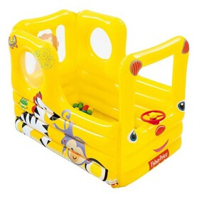 Fisher Price Lil' Learner School Bus Inflatable Pl