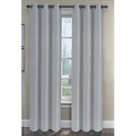"""Set of 2 Faux Silk Curtains- 38"""" x 84"""""""