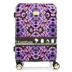 "BEBE Amy Fuchsia Floral 25"" Hardside Luggage"