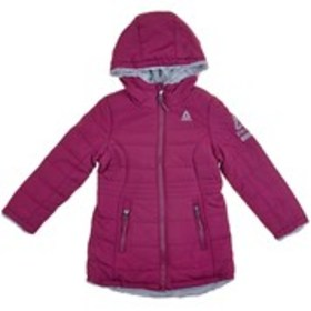 REEBOK Toddler Girls Reversible Puffer Coat w/ Hoo