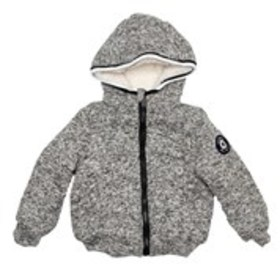 BEN SHERMAN Toddler Boys Heather Grey Fleece Jacke