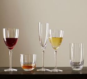 Pottery Barn Schott Zwiesel Audrey Wine Glasses