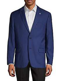 Ben Sherman Checkered Sportcoat BRIGHT BLUE