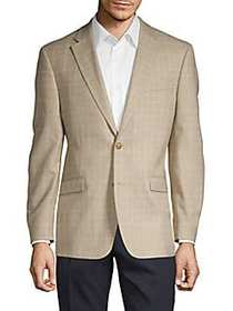 Tommy Hilfiger Windowpane Button-Front Sportcoat T
