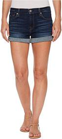 7 For All Mankind Roll Up Shorts in Moreno