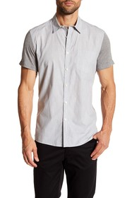 Kenneth Cole New York Short Sleeve Jersey Contrast
