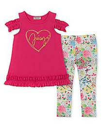 Juicy Couture Little Girl's & Girl's 2-Piece Cold-