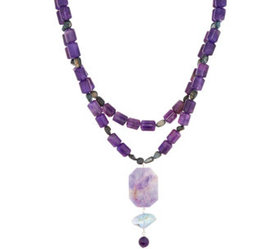 """""""As Is"""" Jodie M. Idlewild Layered Necklace - J3628"""