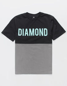 DIAMOND SUPPLY CO. Two Tone Mens T-Shirt_