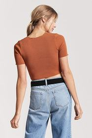 Forever21 Knit Crop Top