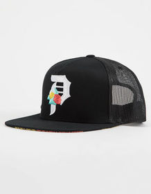 PRIMITIVE Dos Flores Mens Trucker Hat_