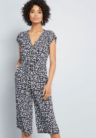 Louche Louche Alluring Everywhere Cropped Jumpsuit