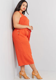 ModCloth ModCloth Elated All Over Cropped Jumpsuit