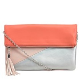 Tasseled Fold-Over Convertible Clutch