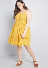 ModCloth ModCloth About Your Outfit A-Line Dress M