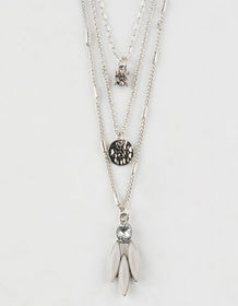 FULL TILT 3 Pack Crystal Necklaces_