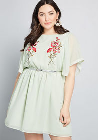 ModCloth ModCloth Emulate Ethereal Embroidered Dre
