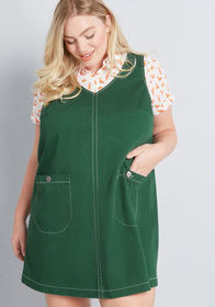 ModCloth ModCloth One More Thing Jumper Green