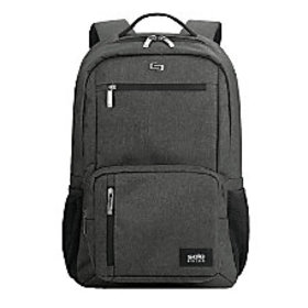 Solo Bowery Laptop Backpack Gray