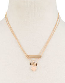 FULL TILT 3 Pack Love Necklace_