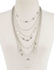 FULL TILT Fillagree Layer Necklace_