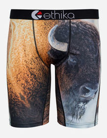 ETHIKA Myke Bison Staple Boys Underwear_