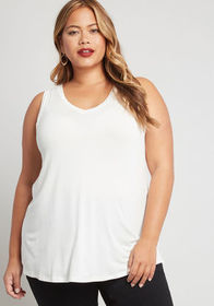 Endless Possibilities Tank Top Ivory