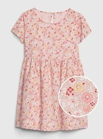 Toddler Print Fit And Flare Dress