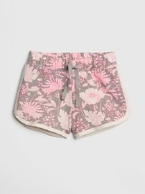 Toddler Pull-On Shorts In Stretch Jersey