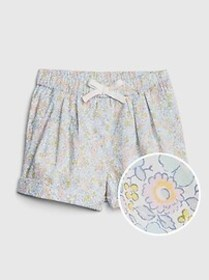 Toddler Floral Pull-On Shorts