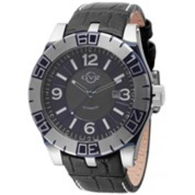 GV2 GV2 La Luna Mens Automatic Blue Dial Leather W