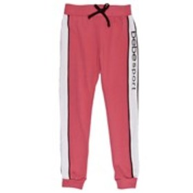 BEBE SPORT Girls Color Block Active Joggers with V