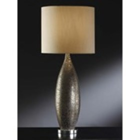 """Manhattan 33"""" Leopold Table Lamp with Drum Shade"""
