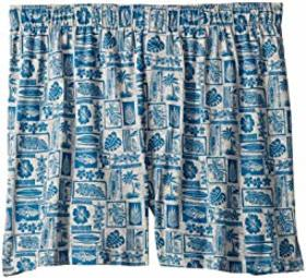 Tommy Bahama Woodblock Heather Knit Boxer