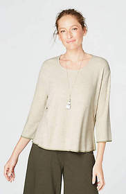 Pure Jill Textured-Knit Top