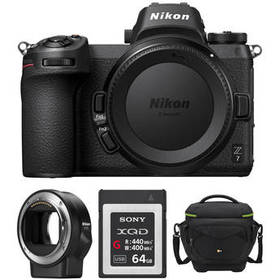 Nikon Z 7 Mirrorless Digital Camera with FTZ Mount