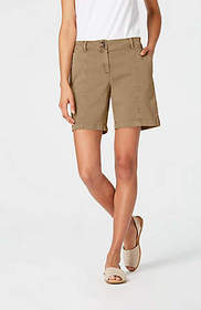 Cotton-Stretch Shorts