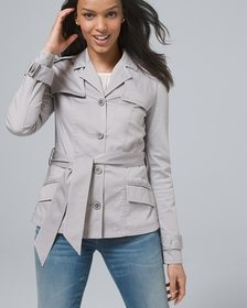 Casual Short Trench Jacket