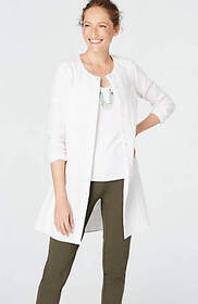 Pure Jill Textured Shirttail Tunic