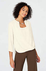 Wearever Draped-Front Top