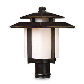 ELK Lighting Kanso 1-Light Outdoor Post Mount in H