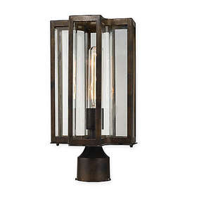 Elk Lighting Bianca 1-Light Outdoor Post Lantern i