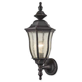 Bennet 1- Light Outdoor Wall Sconce in Black with