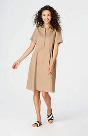 Cotton Poplin Shirtdress
