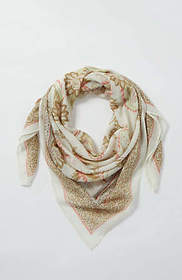 Midsummer Paisley Square Scarf