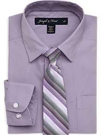 Joseph & Feiss Boys Lavender Shirt and Purple Stri