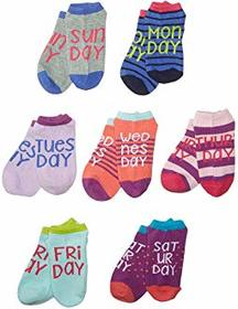 Stride Rite 7-Pack Promo Wendy Days of the Week No