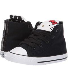 Converse Black/Fiery Red/White